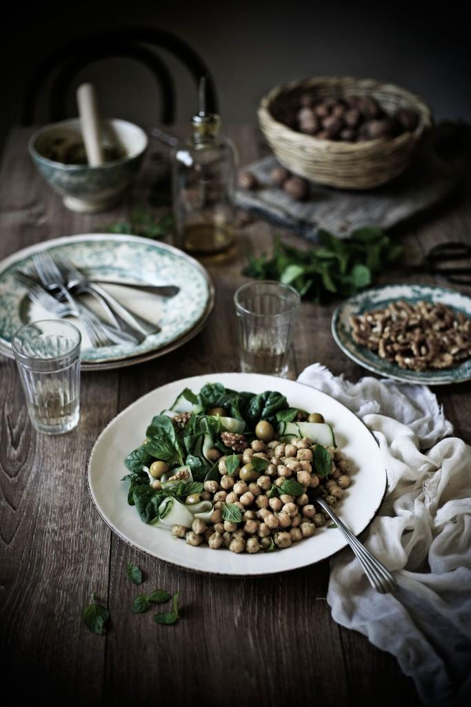 green salad0